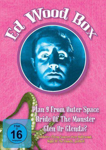 Ed Wood Box (Neuauflage: 3 DVDs)