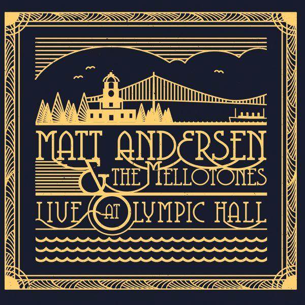 Andersen, Matt & The Mellotones - Live At Olympic Hall (LP)