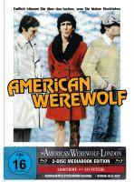 AN AMERICAN WEREWOLF IN LONDON 2-Disc-Mediabook (Blu-ray + Bonus-Blu-ray) (GER-Artwork) - 333 Stk.