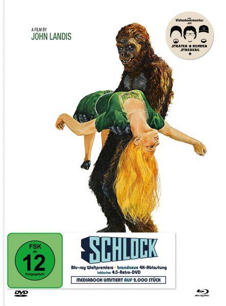 SCHLOCK - Das Bananenmonster (Limited Edition Mediabook - Blu-ray + DVD)