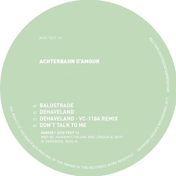 Achterbahn D'amour - Acid Test 13 (Vc-118a Remix)