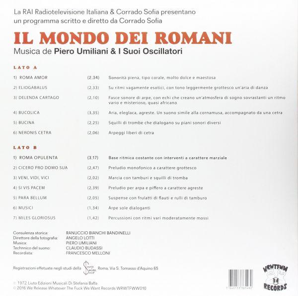 Piero Umiliani & I Suoi Oscillatori - Il Mondo Dei Romani (LP)