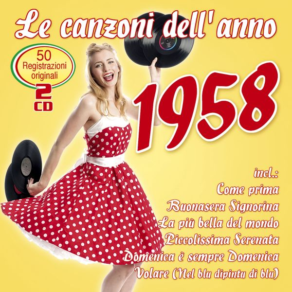 Various - Le canzoni dell'anno 1958