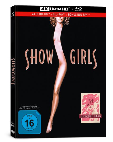 Showgirls - You Don't Nomi - 3-Disc Limited Collector's Edition im Mediabook (4K Ultra HD + Blu-ray