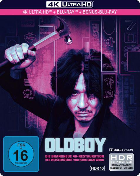 Oldboy - Limited SteelBook 4K Ultra HD (UHD + Blu-ray)
