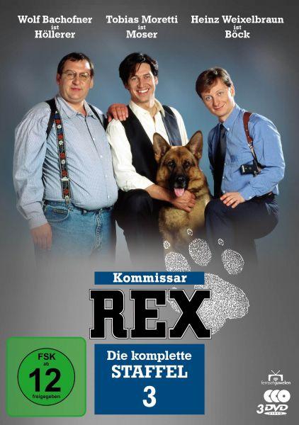 Kommissar Rex - Die komplette 3. Staffel