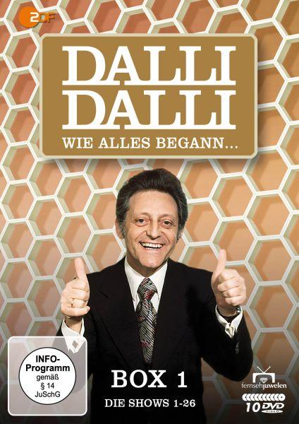 Dalli Dalli - Wie alles begann (Box 1: Die Shows 1-26) (10 DVDs)