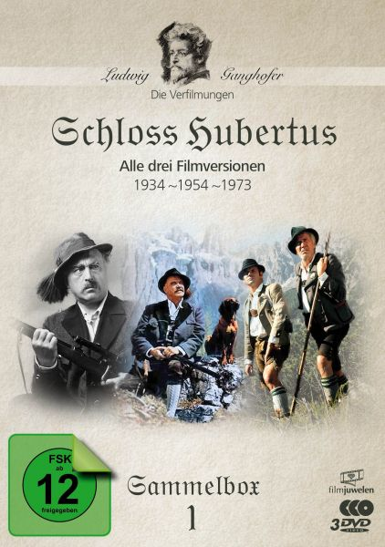 Schloss Hubertus (1934, 1954, 1973) - Die Ganghofer Verfilmungen - Sammelbox 1