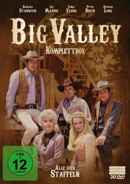 Big Valley - Komplettbox (30 DVDs)