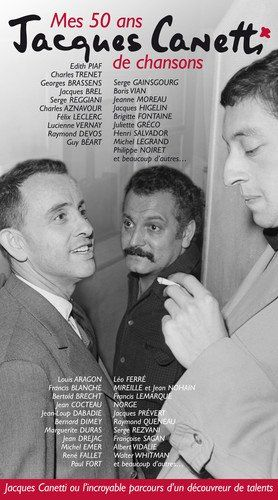 Canetti, Jacques presents - Mes 50 Ans De Chansons (4CD+DVD)