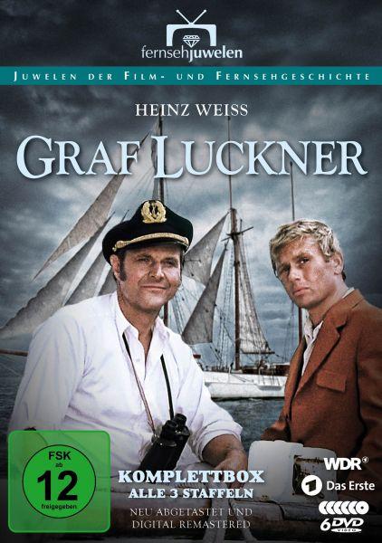 Graf Luckner - Staffeln 1-3 Komplettbox
