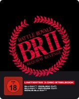 Battle Royale 2 - 3-Disc SteelBook inkl. Requiem Cut, Revenge Cut und Bonus-BD