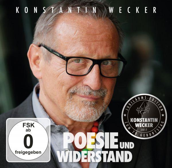 Wecker, Konstantin - Poesie und Widerstand (limitiertes Boxset)