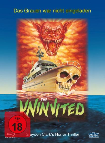 Uninvited - Cover A (Limitiertes Mediabook) (Blu-ray + DVD)