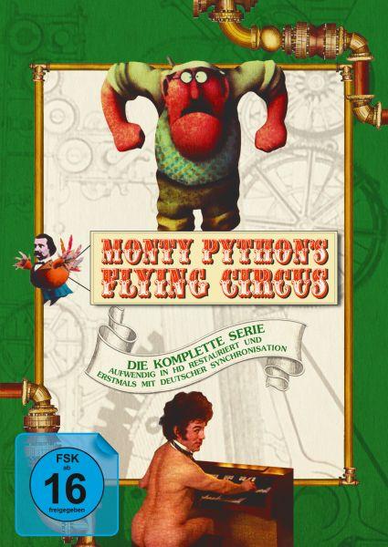 Monty Python's Flying Circus - Die komplette Serie auf DVD (Staffel 1-4)