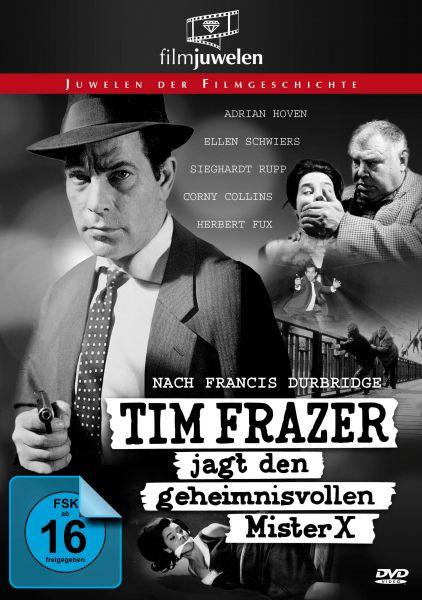 Tim Frazer jagt den geheimnisvollen Mr. X (Francis Durbridge)