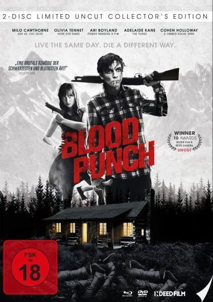 Blood Punch - Und täglich grüßt der Tod - Limited Edition Mediabook (Uncut) (Blu-ray + DVD)