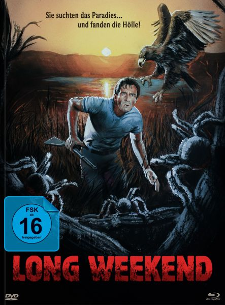 Long Weekend - Limited Mediabook (uncut)(Blu-ray + DVD)