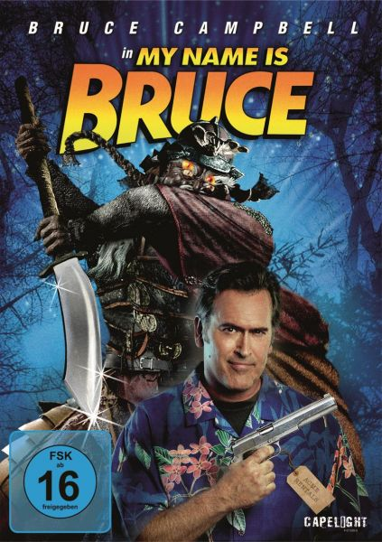 My Name Is Bruce (Limited Edition Mediabook)