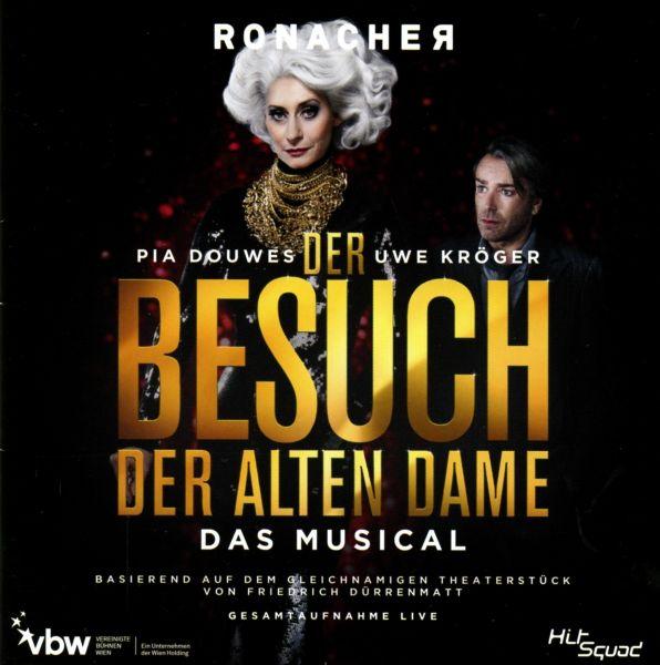 Cast Wien, Original (Uwe Kröger, Pia Douwes, Ethan Freeman, Masha Karell, Riccardo Greco) - Der Besu