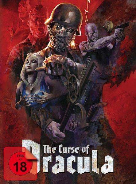 The Curse of Dracula - Limited Edition Mediabook (uncut) (Blu-ray + DVD)