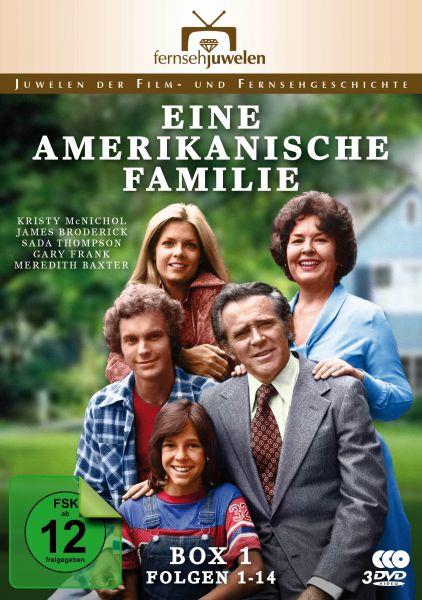 Eine amerikanische Familie - Box 1 (Folgen 1-14)