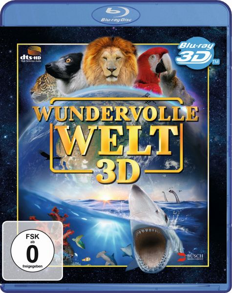 Wundervolle Welt - Special Real 3D Edition (3D Blu-ray)