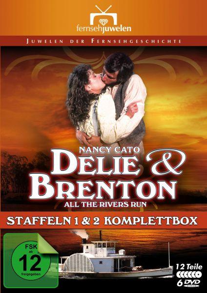 Delie und Brenton - Komplettbox (Staffeln 1 & 2 / 6 DVDs)