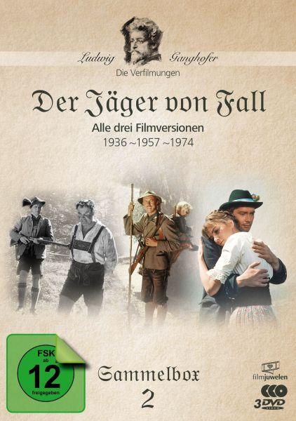 Der Jäger von Fall (1936, 1956, 1974) - Die Ganghofer Verfilmungen - Sammelbox 2