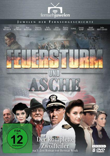 Feuersturm und Asche - Der komplette Zwölfteiler (8 DVDs)