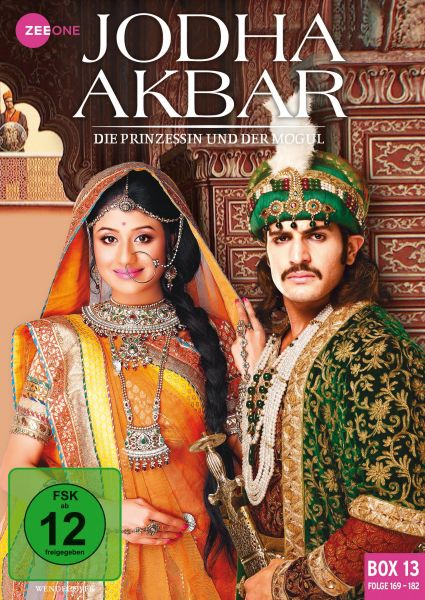 Jodha Akbar - Die Prinzessin und der Mogul (Box 13) (Folge 169-182)
