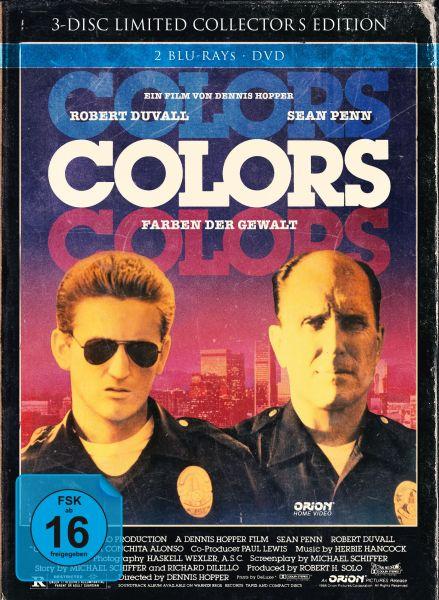 Colors - Farben der Gewalt - 3-Disc Mediabook (Cover B)