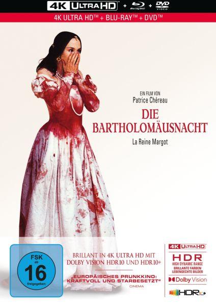 Die Bartholomäusnacht - 3-Disc Limited Collector's Edition im Mediabook (UHD BD + BD + DVD)