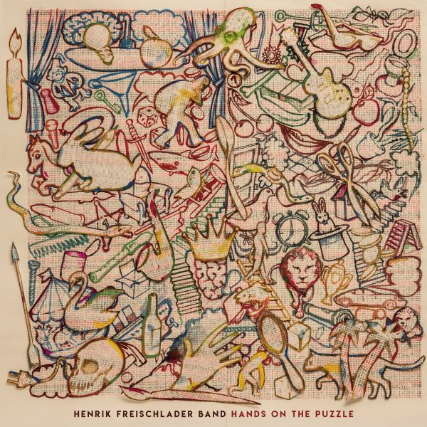 Freischlader, Henrik (Henrik Freischlader Band) - Hands On The Puzzle (2LP)