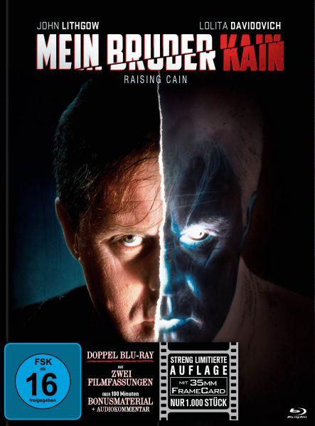 Mein Bruder Kain - Raising Cain [Doppel-Blu-ray Mediabook] (inkl. 35mm Framecard)