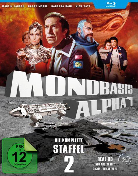 Mondbasis Alpha 1 - Extended Version HD - Staffel 2 (Real HD / Neuabtastung)