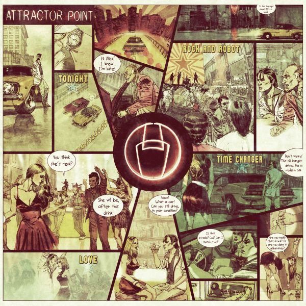Attractor Point - Part 1: Cindy (LP+CD)