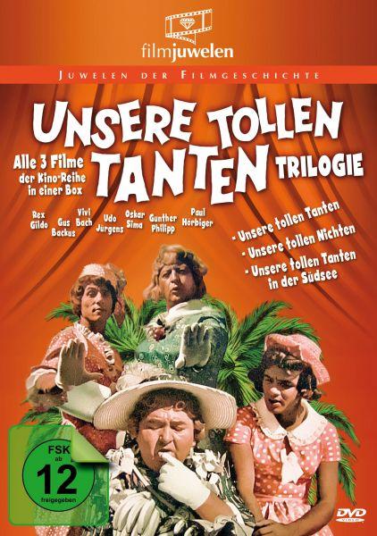 Unsere tollen Tanten Trilogie - Alle 3 Filme der Reihe in einer Box