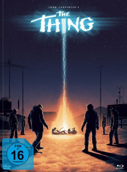 John Carpenters THE THING - 3-Disc-Mediabook Edition #Ferguson (BD & DVD)