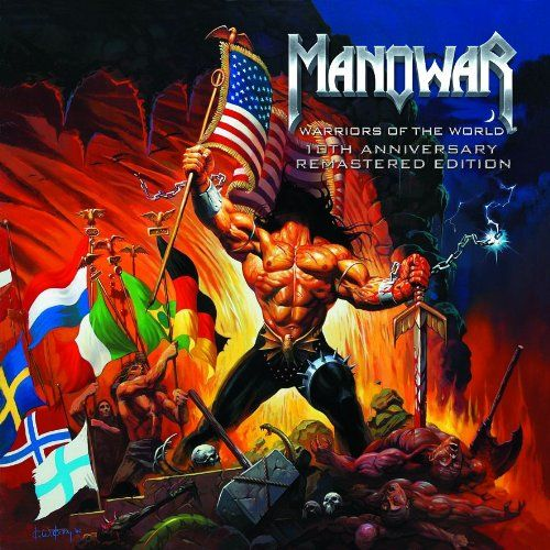 Manowar - Warriors of the world - 10th Anniversary Remastered Edition