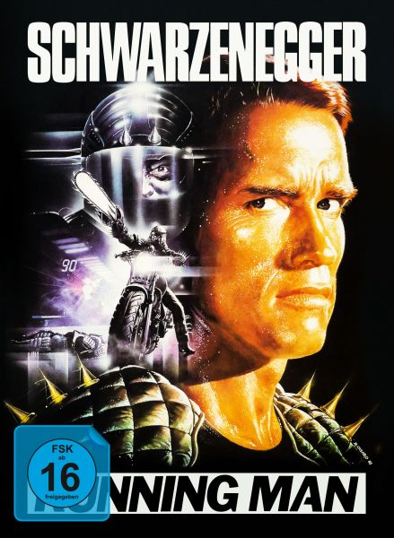Running Man - 4-Disc Mediabook (inkl. Soundtrack-CD + Bonus-Blu-ray)