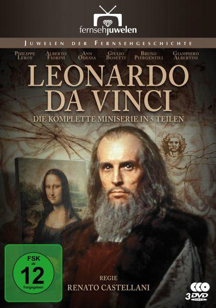 Leonardo da Vinci - Die komplette Miniserie in 5 Teilen