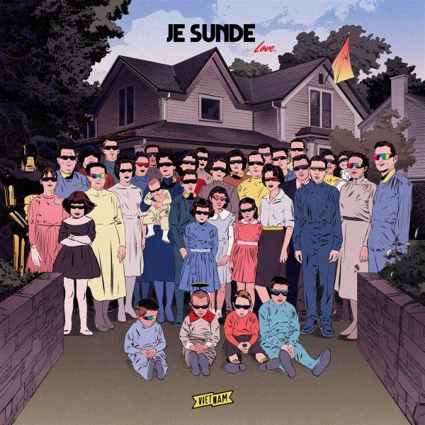 Sunde, J.E. - 9 Songs About Love (LP+CD)