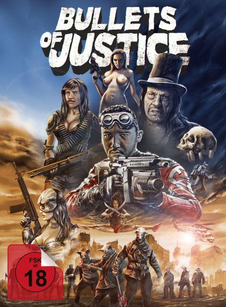 Bullets of Justice (uncut) - 2-Disc Limited Collector's Edition (Mediabook) (Blu-ray + Bonus-BD)