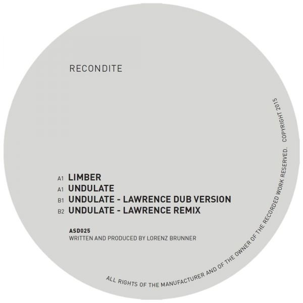 Recondite - Limber/Undulate (Lawrence Mixes)