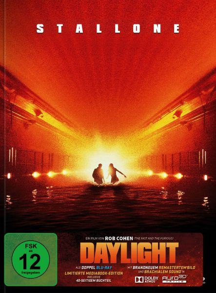 Daylight - Remastered Mediabook Edition (Doppel-Blu-ray mit Dolby Atmos + AURO-3D)