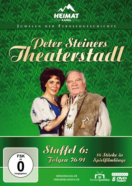 Peter Steiners Theaterstadl - Staffel 6 (8 DVDs)