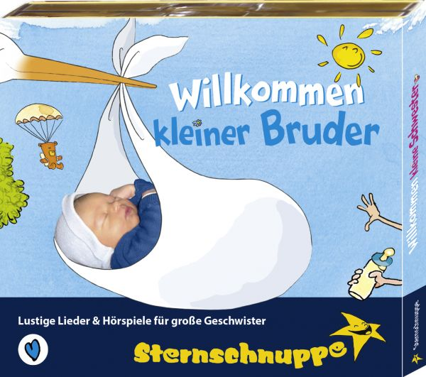 Sternschnuppe - Willkommen kleiner Bruder
