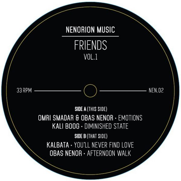 Various - Friends Vol. 1 EP