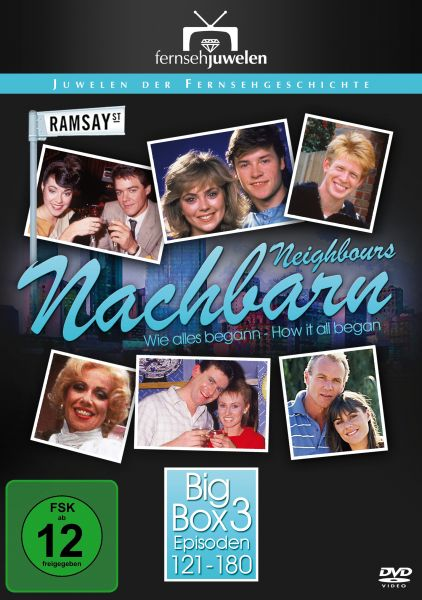 Nachbarn / Neighbours - Big Box 3 (Folge 121-180 + Booklet) (8 DVDs)
